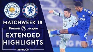 Leicester City v. Chelsea | PREMIER LEAGUE HIGHLIGHTS | 1/19/2021 | NBC Sports