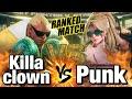 スト5 猛者バイソン vs パンク Killaclown Balrog vs Punk Poison SFV