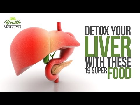 Video 19 Foods That Naturally Cleanse the Liver l liver disease symptoms