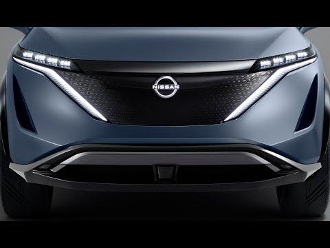 New Nissan Ariya – futuristic all-electric SUV