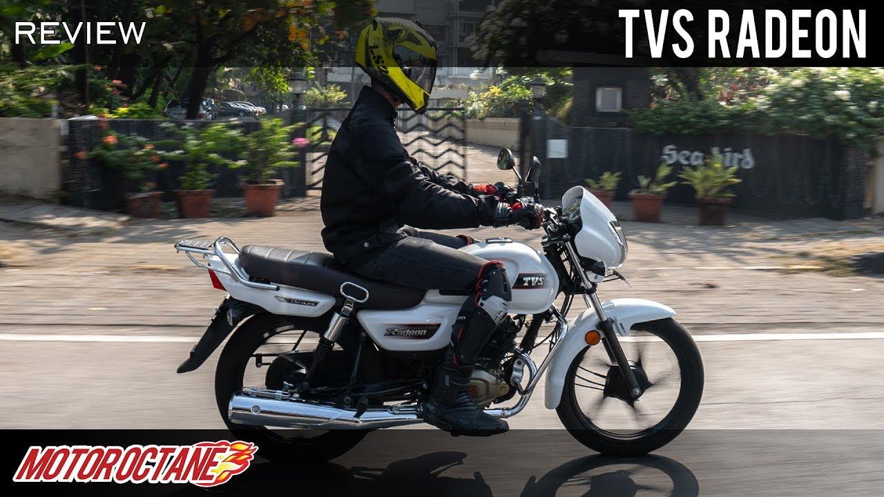 Motoroctane Youtube Video - TVS Radeon Review | Hindi | MotorOctane