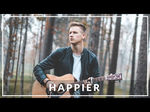 Marshmello Ft. Bastille - Happier | Acoustic Cover By Daniel Josefson Mp3