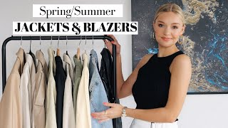 CAPSULE JACKETS FOR SPRING/SUMMER 2020 | BLAZERS, DENIM JACKETS, TRENCH COATS