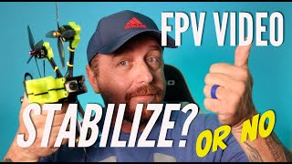 Stabilize Video or not for FPV? #gopro #hero9