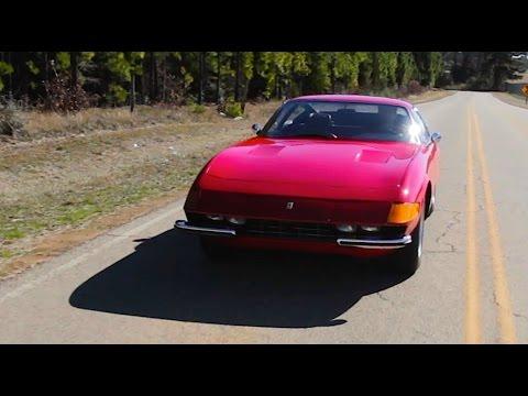 1973 Ferrari Daytona RETRO DRIVE REVIEW