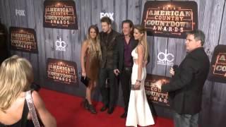 Florida Georgia Line Red Carpet Fashion - ACCAs 2014