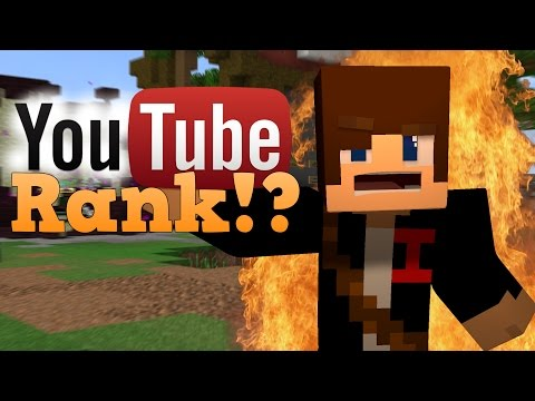 Video Hypixel YOUTUBE RANK!?! (Funny Skit!) [#1]