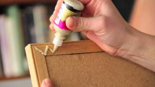 Ways to Decorate an Old Cork Bulletin Board : Fun & Decorative Crafts
