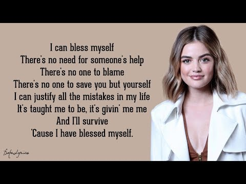 Lucy Hale - Bless Myself (Lyrics) 🎵
