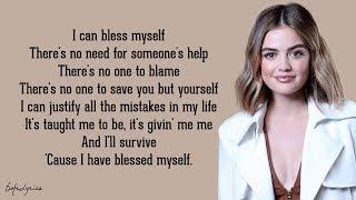 Lucy Hale - Bless Myself (Lyrics) 🎵