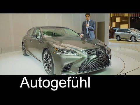 Lexus LS REVIEW Premiere all-new gen 2017/2018 neu - Autogefühl