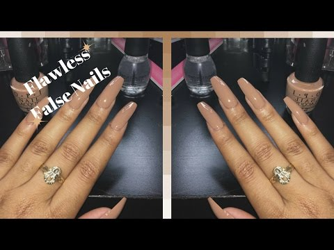 DIY Long Square Coffin style nails
