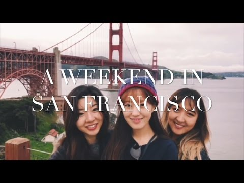 10 Things to do in San Francisco | Weekend Travel Vlog with Friends PART 1