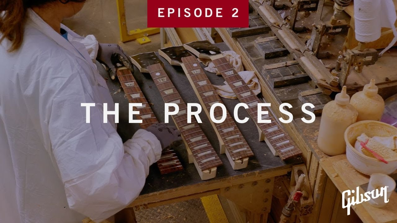 The Process: Episode 2 - How Guitar Necks Take Shape At Gibson USA