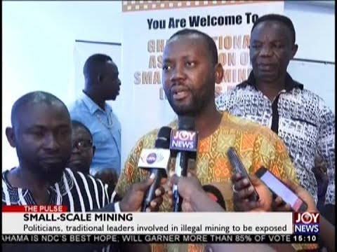 Small-Scale Mining - The Pulse on JoyNews (28-8-18)