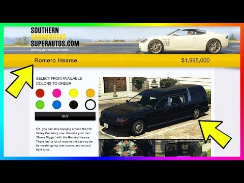 Buying The Romero Hearse In GTA Online - NEW Details On Upcoming DLC Cars, Vehicles & MORE! (GTA 5)