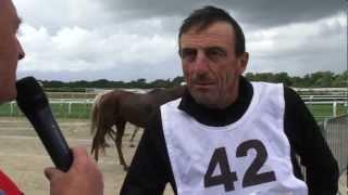 preview picture of video 'Yves Burban avec Nickel d'Or gagnant des 130 km de Landivisiau, le 5 août 2012.'
