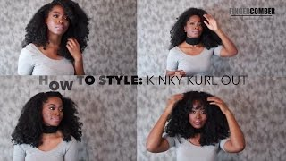 # 2 Great Protective Styles for Naturals and Transitioners:Styles for Kinky Kurl Out by fingercomber