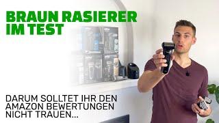 Braun Rasierer Test und Vorstellung aller Serien (2021)   Die Amazon Bewertungen trügen leider...