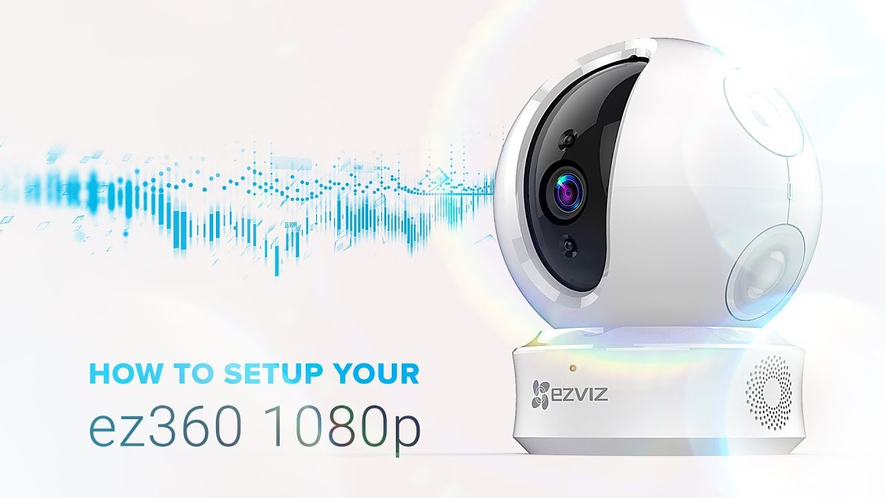 Ezviz by Hikvision C6C (ez360) Pan/Tilt camera 360gr, 1080p, WiFi, SD-slot, Mic, Speaker, autotracking