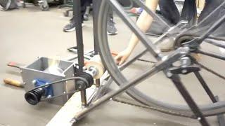 Make A Bike Powered Plastic Shredder #preciousplastic