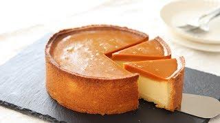 プリンタルトの作り方 Cream Cheese Pudding Tart HidaMari Cooking
