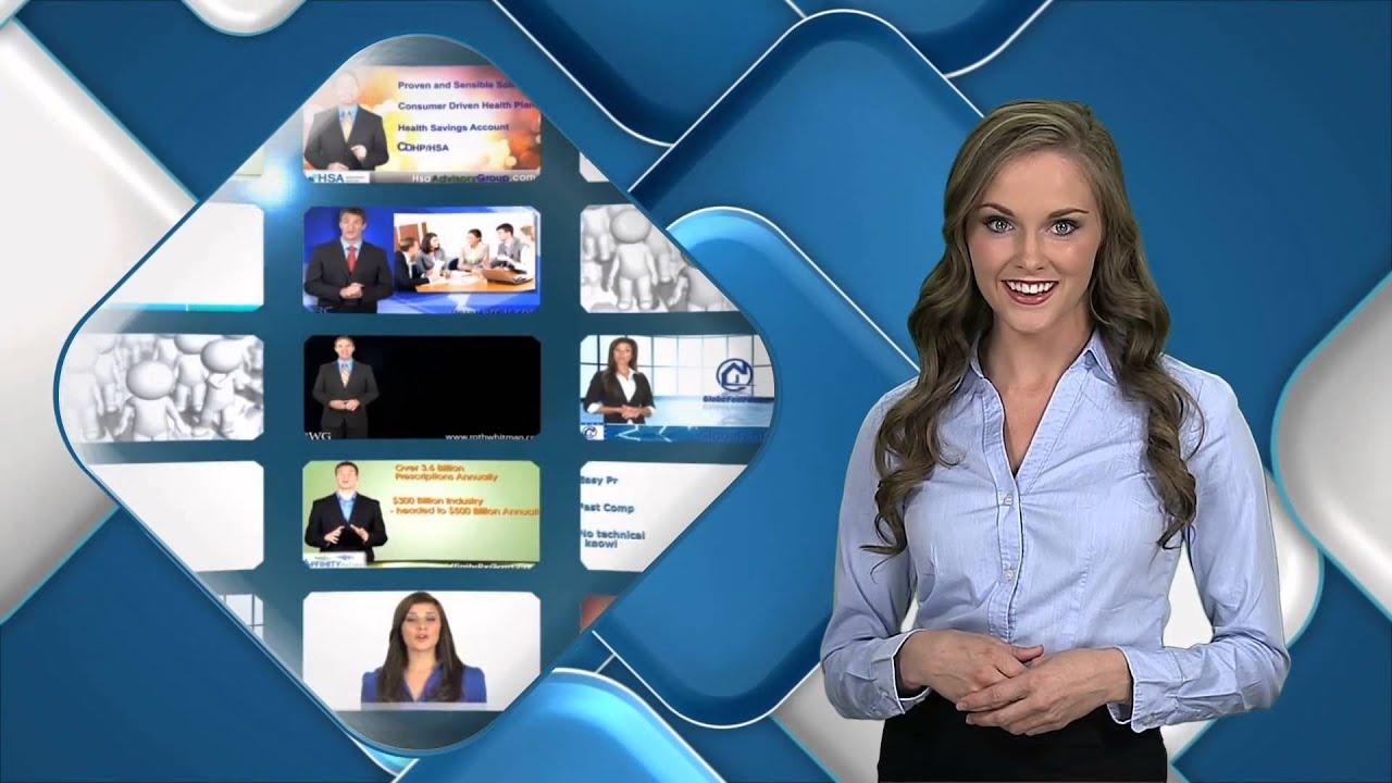 Custom Video Presentation Example - 'Rounding Corners'