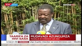 Musalia Mudavadi: State officials are hiding billions in official budgets with intent to steal