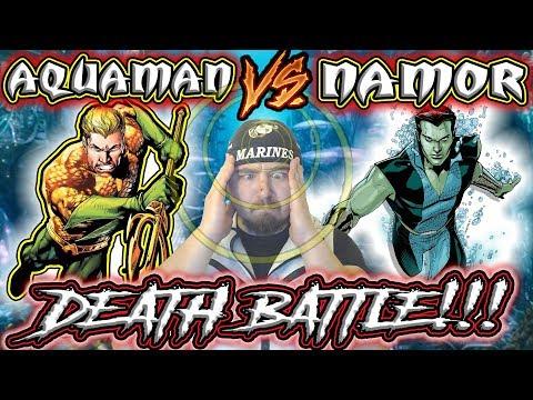 A LOT OF SEA-MEN!!!   Aquaman Vs Namor Death Battle Reaction