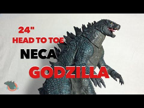 """24"""" Head to TAIL NECA Godzilla 2014 Review"""