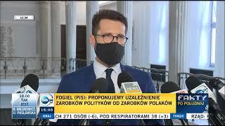 Fogiel: Tusk zarobił w Brukseli tyle co posłowie przez 68 lat