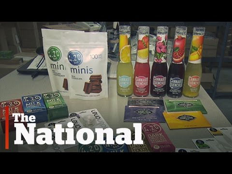 Edible marijuana in Canada's future