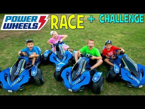 Power Wheels Boomerang Challenge! - Family Fun Pack