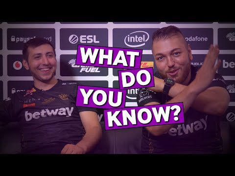 BIG XANTARES and gob b Play CS:GO What Do You Know?