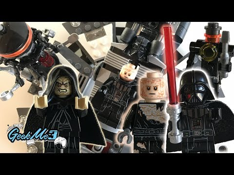 Vidéo LEGO Star Wars 75183 : La transformation de Dark Vador