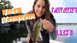 LAKE CHAMPLAIN FISHING TRIP! | Bass & Northern Pike