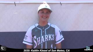 2020 Kaitlin Kiesel Pitcher and Outfield Softball Skills Video