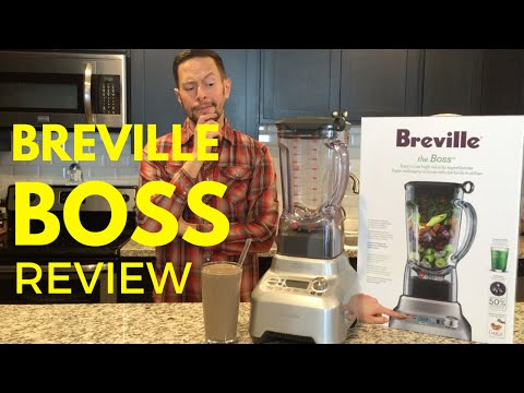 Breville Boss Blender Review and Unboxing