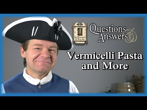 Vermicelli Pasta and More – Q&A