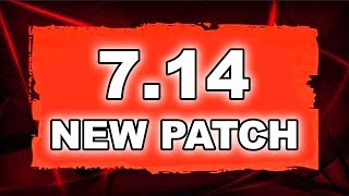 Dota 2 NEW 7.14 PATCH - Main Changes!