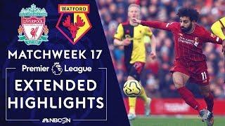 Liverpool  v. Watford | PREMIER LEAGUE HIGHLIGHTS | 12/14/19 | NBC Sports