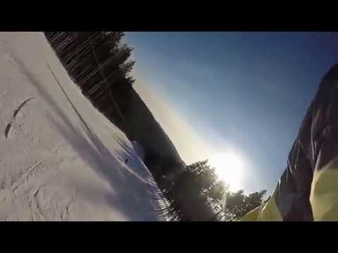 Видео: Видео горнолыжного курорта Стожок в Свердловская область