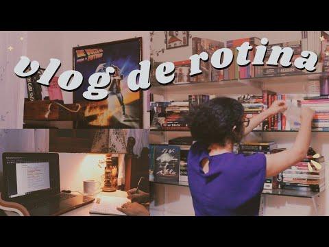 vlog: rotina de fim de noite, organização,  última leitura e book haul   cozy night routine