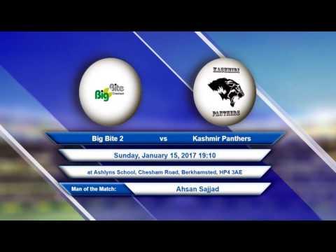 Video Big Bite 2 VS Kashmir Panthers - 15-Jan-2017