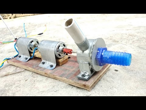 How to Make Powerful Dual Motar Water Pump