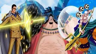 5 САМЫХ сильнейших фруктов типа логии в Ван Пис/One Piece