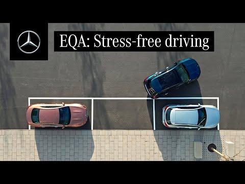 Musique pub Systèmes de sécurité et d'assistance Mercedes Benz dans le pub EQA 2021   Juillet 2021