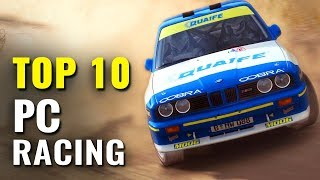 Top 10 PC Racing Games of the last 5 years