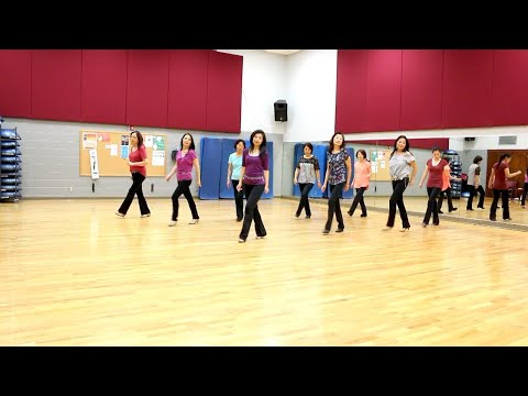 I've Been Waiting For You - Line Dance (Dance & Teach in English & 中文)