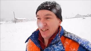 Снежная зима в деревне//ПЕРЕЕЗД в ДЕРЕВНЮ